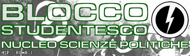 Blocco Studentesco Scienze Politiche Roma 3