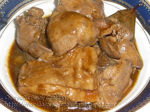 Chicken Adobong in Oyster Sauce