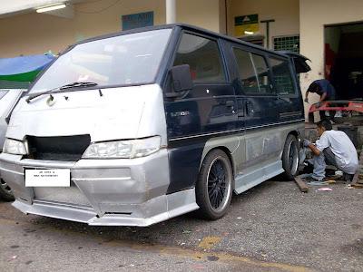 JAI AUTO & WAN MOTORSPORT: Kustom Bodykit - Mitsubishi Delica L300