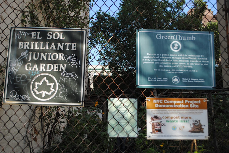 WELCOME TO COMMUNITY GARDEN EL SOL BRILLANTE JUNIOR