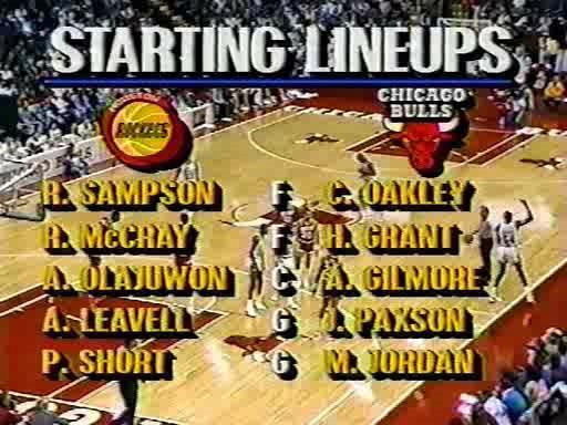 12.12.1987 Chicago Bulls - Houston Rockets TVRip avi