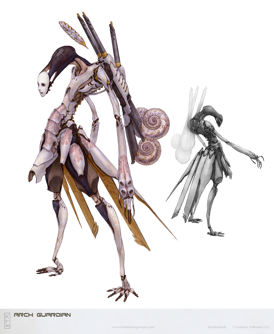 Character Design Techniques Keith Thompson : Just one more unlock april