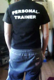 Personal Trainer Back