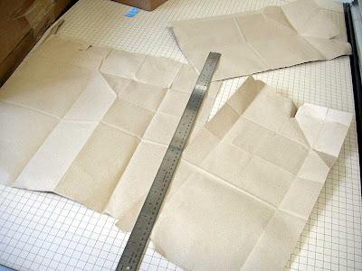 sac de papier craft