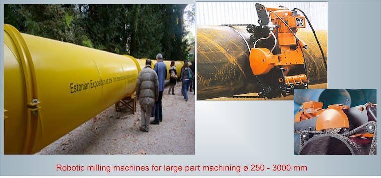 Máy cắt ống dầu khí