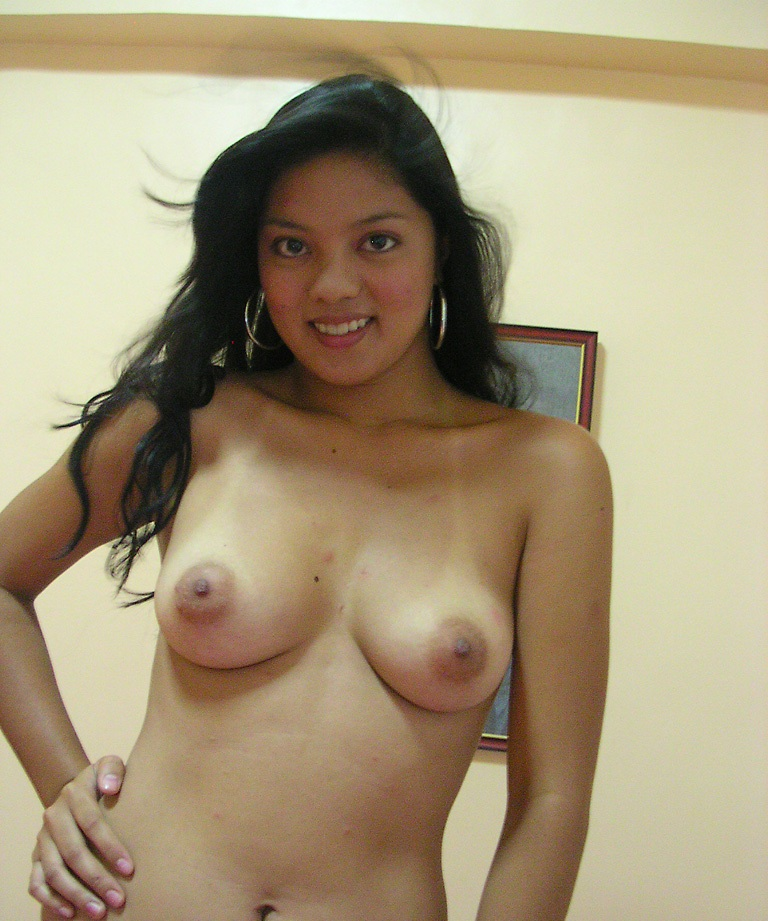 Sexy naked tan indian