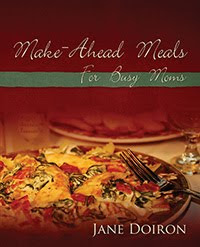 Make ahead meals for busy moms cookbook giveaway