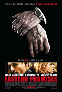 Promesas del Este dirigida por David Cronenberg