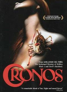 Cronos dirigida por Guillermo del Toro