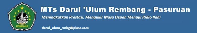 MTs Darul 'Ulum Rembang - Pasuruan