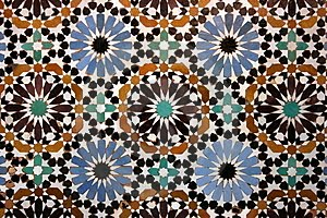La clase de pl stica mosaicos rabes for Mosaico marroqui