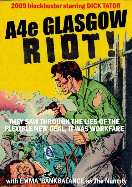 A4e Glasgow Riot News