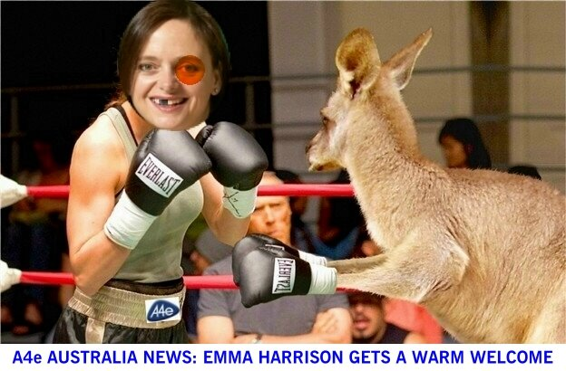 A4e Australia News: Emma welcomed Down Under