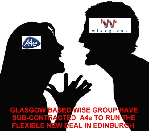 Wise Group sub-contract Flexible New Deal contract to A4e