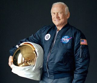 Astronaut Edwin Aldrin