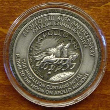 Apollo 13 40th Anniversary Coin