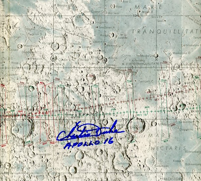 Apollo 16 Site Map