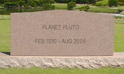RIP Pluto