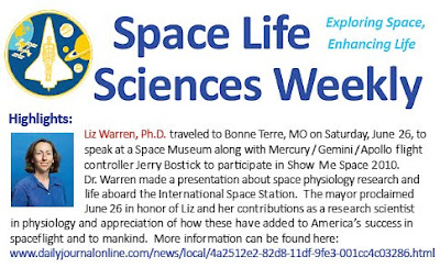 Johnson Space Center Newsletter for Life Sciences