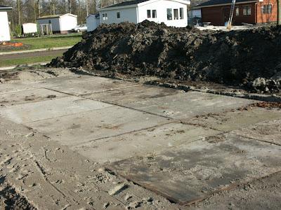 Mijn vakantiehuis is een chalet de betonplaten - Hoe dicht terras ...