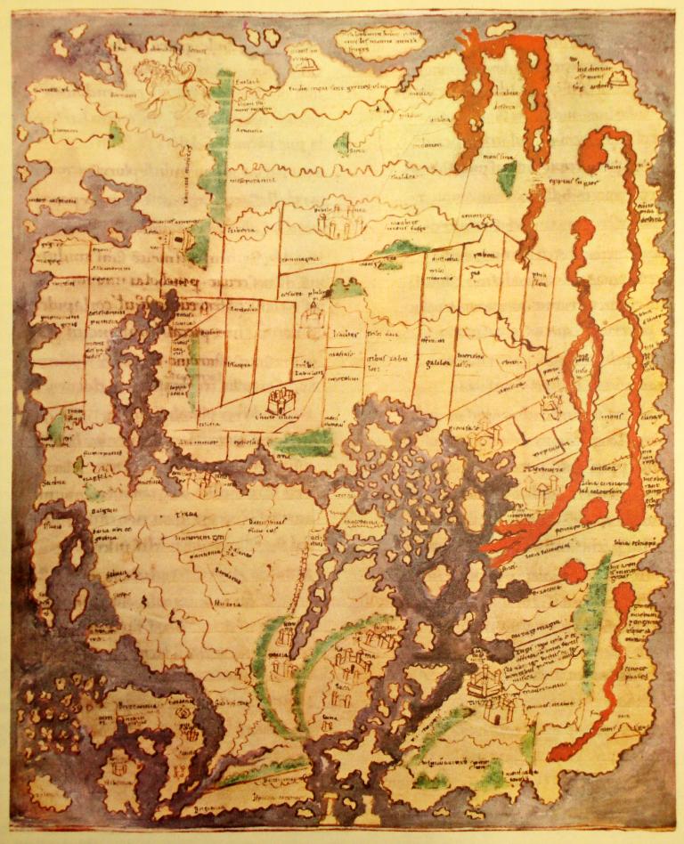 Ancient World Maps: World Map 11th Century