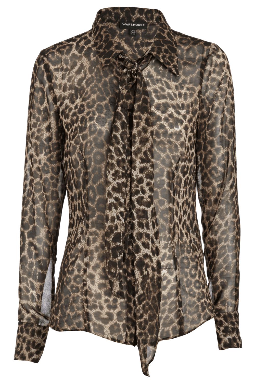 Zara Leopard Head Blouse 45
