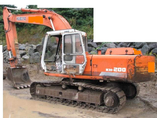 Kubota Excavator Parts : Sheng weng heavy equipment parts trading used kubota