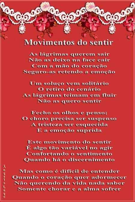 MOVIMENTOS DO SENTIR