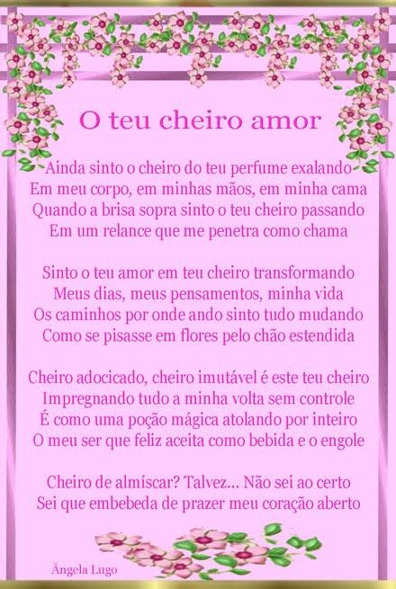 O TEU CHEIRO AMOR