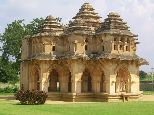 This two storied palace is one of the finest examples of IndoIslamic