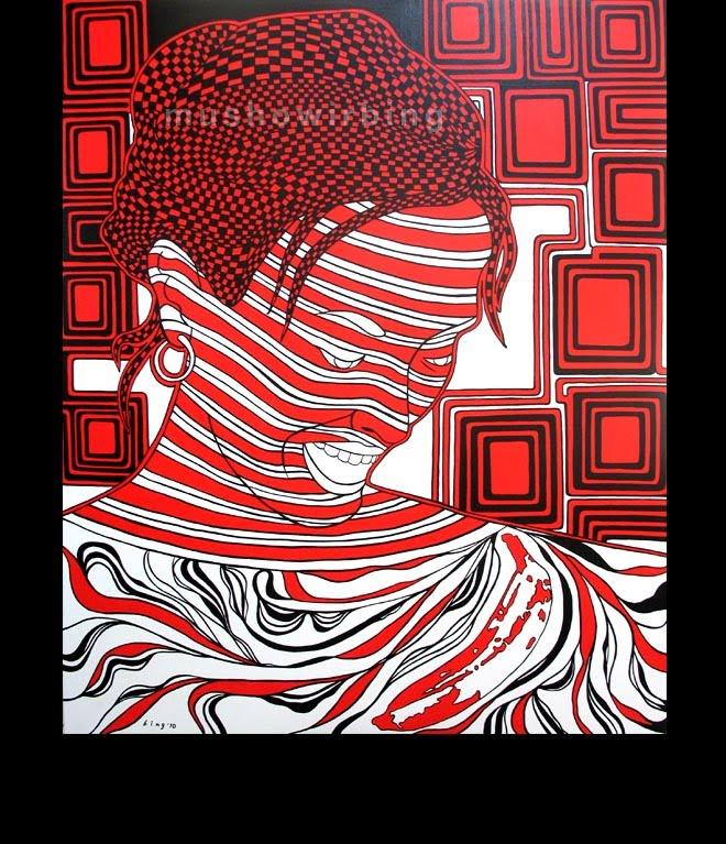acrylic on canvas 140cm X 170cm (c)