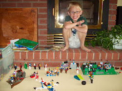 Oldest and his Lego creations