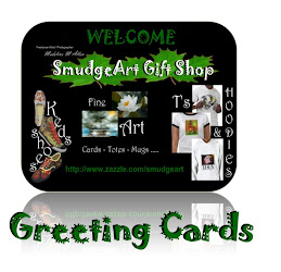 SmudgeArt Greeting Cards