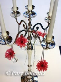 Candelabra Flower Spray - Wedding and Floral Supply - Florist