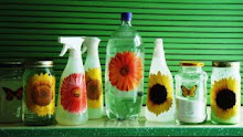 These are my homemade, non-toxic homemade cleaners!