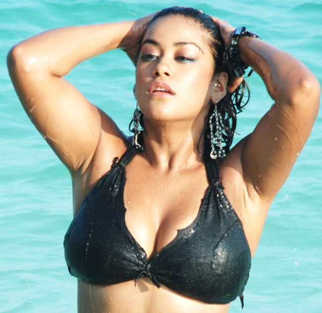 mumaith khan bikini photos