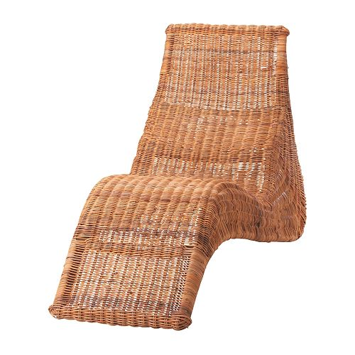 Beautiful abodes daybeds chaise lounges for an air of for Chaise longue rattan ikea