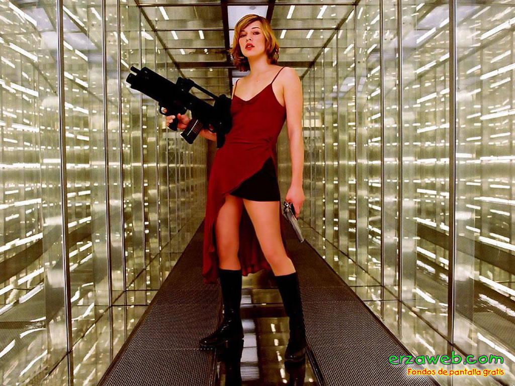 Movie Review Land: RES... Milla Jovovich Resident Evil Movie