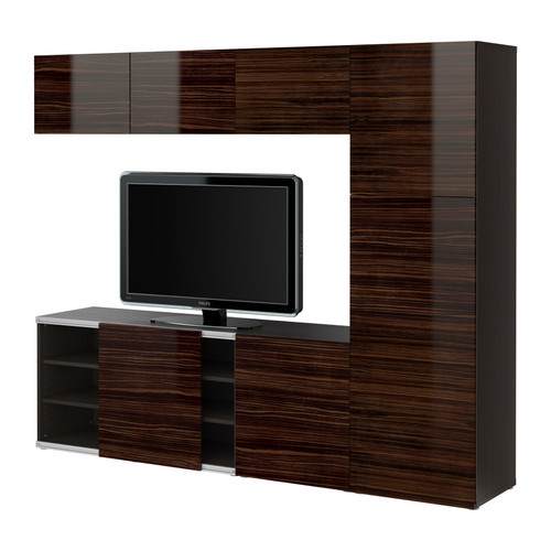 beautiful abodes a clean ageless media center solution. Black Bedroom Furniture Sets. Home Design Ideas