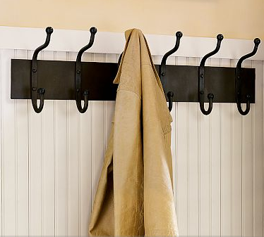 Beautiful Abodes Coat Racks Custom Jig Silver Coat Rack