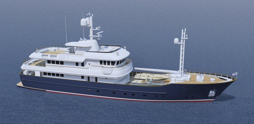 Sparkman Stephens 151 39 Expedition Motoryacht Design 2684