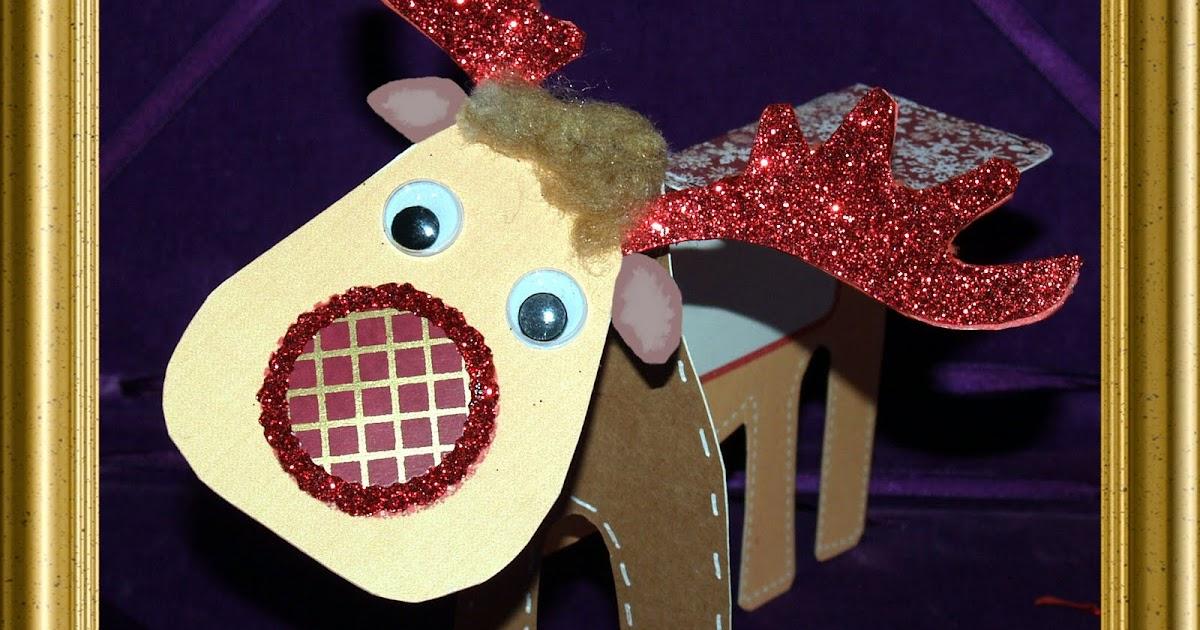 Eiglas: C.R.A.F.T 30 - Reindeer Template Card