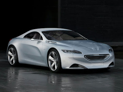 The 2010 Geneva Motor Show in March is Peugeot SR1 Concept Car