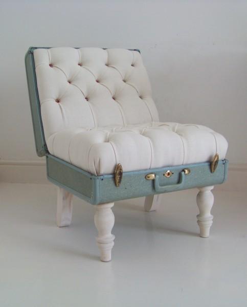 Sofá en maleta. Chic & Vintage