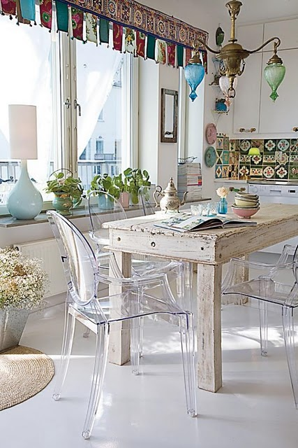 Vintage chic blog decoraci n vintage diy ideas para for Comedor oriental