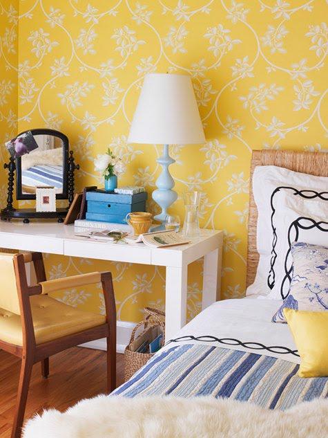 Vintage chic blog decoraci n vintage diy ideas para - Dormitorios empapelados ...