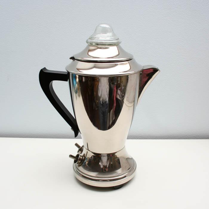 Cafetera electrica vintage
