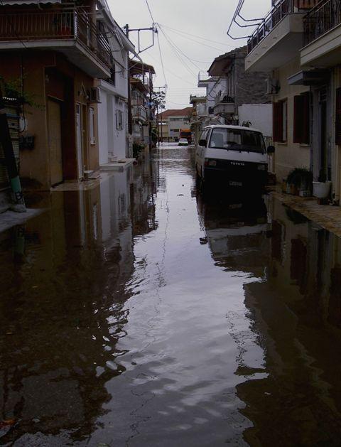 Καταστροφικές πλημμύρες στο Αιτωλικό
