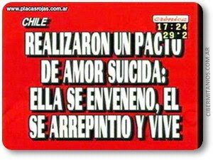 Cronica TV - Placas imperdibles !!