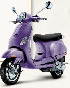 Purple Vespa http://pinterest.com/pin/206954545346295214/